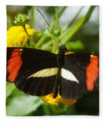 Postman Butterfly 2 Fleece Blanket