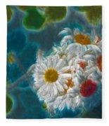 Pot Of Daisies 02 - S11bl01 Fleece Blanket