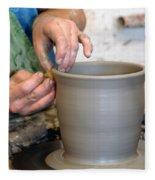 Potters Hands Fleece Blanket
