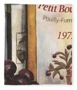 Pouilly Fume 1975 Fleece Blanket