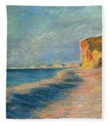 Pourville Near Dieppe Fleece Blanket