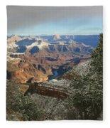 Powder Coated Canyon Fleece Blanket
