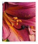 Powdered Pollen  Fleece Blanket