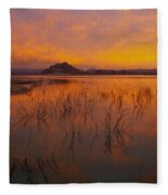 Powell Sunrise 1 Fleece Blanket