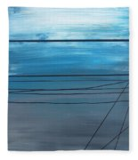 Power Lines 14 Fleece Blanket