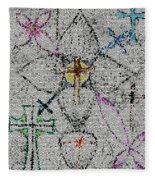 Power Of The Cross Fleece Blanket