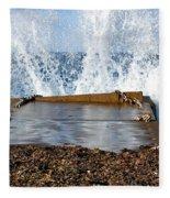 Power Of The Sea Fleece Blanket