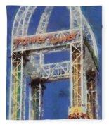 Power Tower Cedar Point Fleece Blanket