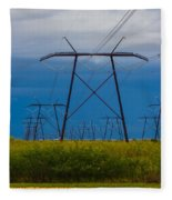 Power Towers Fleece Blanket