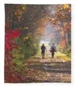 Power Walkers Fleece Blanket