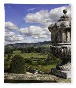 Powis Castle Garden Urn Fleece Blanket