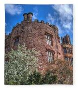 Powis Castle Fleece Blanket