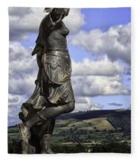Powis Castle Statuary Fleece Blanket