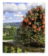 Powis Castle Terrace Fleece Blanket