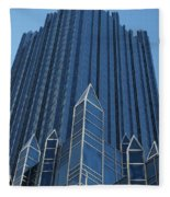 Ppg Place Pittsburgh Fleece Blanket