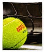 Practice - Tennis Ball By William Patrick And Sharon Cummings Fleece Blanket
