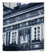 Prague Sgraffito Fleece Blanket