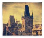 Praha Fleece Blanket