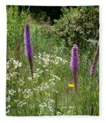 Prairie Blossoms Fleece Blanket