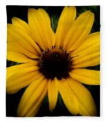 Prairie Coreopsis Fleece Blanket