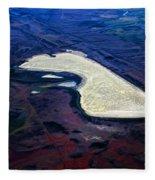 Prairie Dog Lake Fleece Blanket