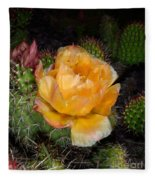 Prairie Rose II Fleece Blanket