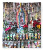 Prayers To Our Lady Of Guadalupe Fleece Blanket