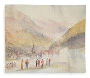 Pre St Didier, 1836 Fleece Blanket