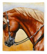 Precision - Horse Painting Fleece Blanket
