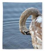 Preening Fleece Blanket