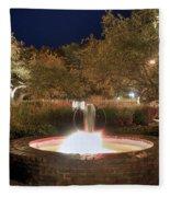 Prescott Park Fountain Fleece Blanket