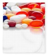 Prescriptions Fleece Blanket