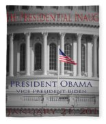 President Obama Inauguration Fleece Blanket