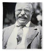 President Theodore Roosevelt Fleece Blanket