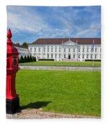Presidential Palace Berlin Germany Fleece Blanket