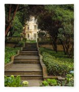 Presidential Palace Garden Fleece Blanket