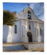 Presidio Chapel San Elizario Texas Fleece Blanket