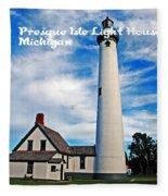 Presque Isle Fleece Blanket