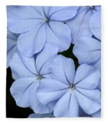 Prettiest Plumbago Fleece Blanket