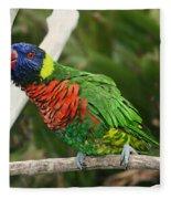 Pretty Bird Fleece Blanket