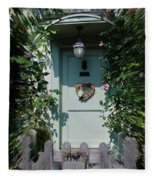 Pretty Door In Nether Wallop Fleece Blanket