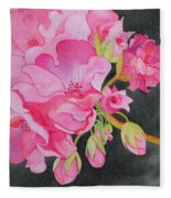 Pretty In Pink Fleece Blanket
