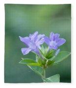 Pretty In Purple Fleece Blanket