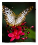 Pretty Little Butterfly  Fleece Blanket