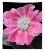 Pretty Pink Petals  Fleece Blanket
