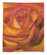 Pretty Rose Fleece Blanket