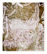Pretty Things 1 - Lingerie Art By Sharon Cummings Fleece Blanket