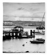 Priddy's Hard Boats Fleece Blanket