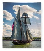Pride Of  Baltimore 1 Fleece Blanket
