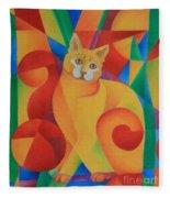 Primary Cat II Fleece Blanket
